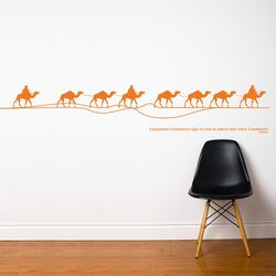 Spot Caravan Wall Decal