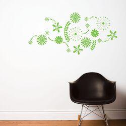 Spot Flower Power Wall Decal