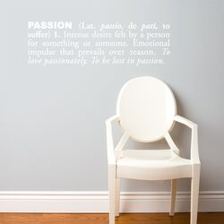 Blabla Passion (English) Wall Decal