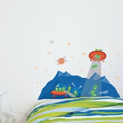Cama Head in The Stars Wall Decal