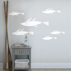 Spot School of Fish Wall Decal