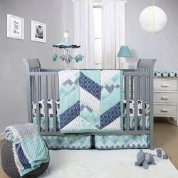 Mosaic 3 Piece Crib Bedding Set