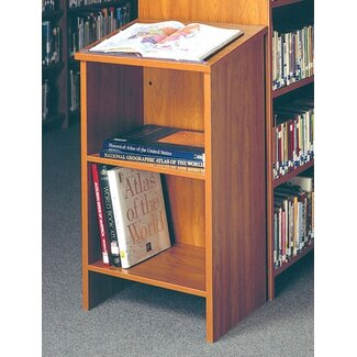Ironwood Quick Ship: Dictionary Stand | CSN Stores