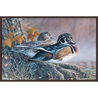 Wood Duck Rug for Indoors/Outdoors