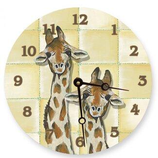 Giraffe Decor clock