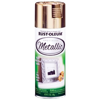 Rustoleum Gold Metallic Specialty Spray Paint 1910-830