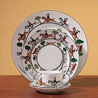 Wedgwood Hunt Scene Dinnerware Collection