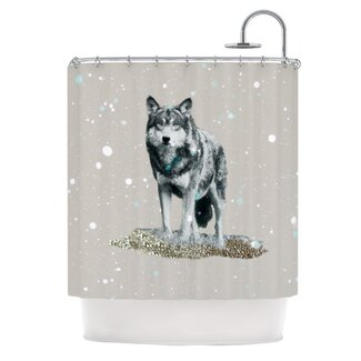 Wolf Shower Curtain Shop