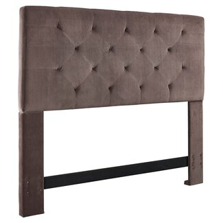 Adaline Upholstered Headboard by Andover Mills