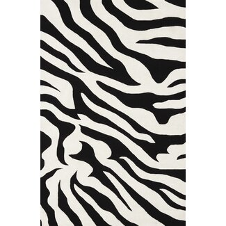 Dalyn Rug Co. Safari Polyester Black Novelty Rug - SI1BK