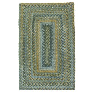 Ridgevale Whipple Braided Wool Rug