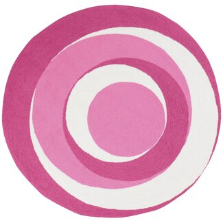 Bathroom Rugs on Surya Playground Hot Pink Kids Round Rug   Wayfair   Surya Rugs 2012