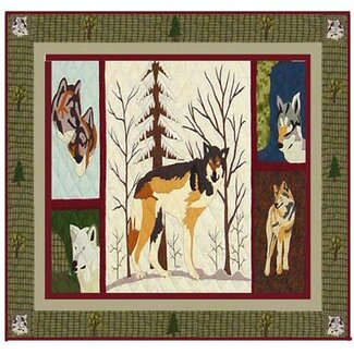 Click to buy Wolf Shower Curtain: Call of The Wild Shower Curtain from Wayfair!