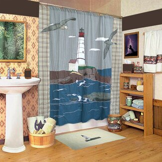 Download Free Patch Magic Nautical Shower Curtain