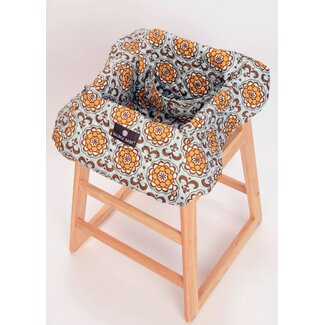 Balboa Baby Shopping Cart / High Chair Cover in Suri