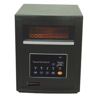 Advanced Tech Infrared ATI Heat Force 1500 with  80,000 hour PTC Heating Element, Built-in UV Technology