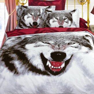 Wolf Bedding