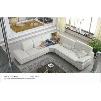 elite leather sectional sofas