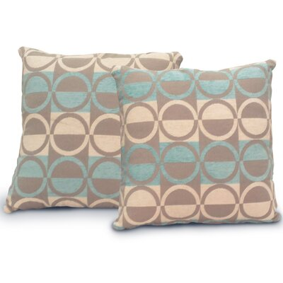 Bella Jacquard Throw Pillow