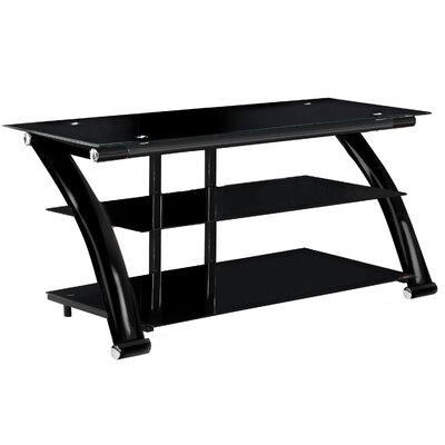EZ TV Stand Finish: Black