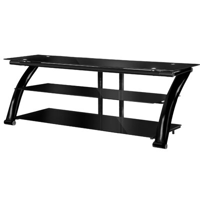 Fold N Snap TV Stand Color: Black, Width of TV Stand: 23 H x 52 W x 21.5 D