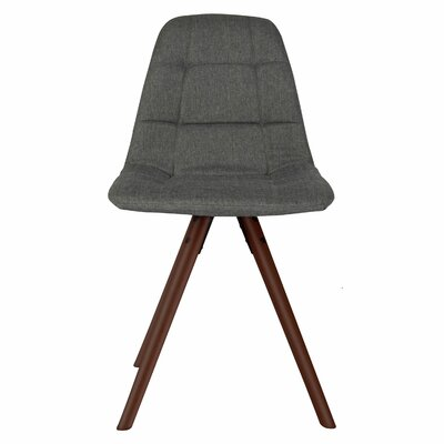 Brewster Fabric Side Chair Upholstery: Medium Gray
