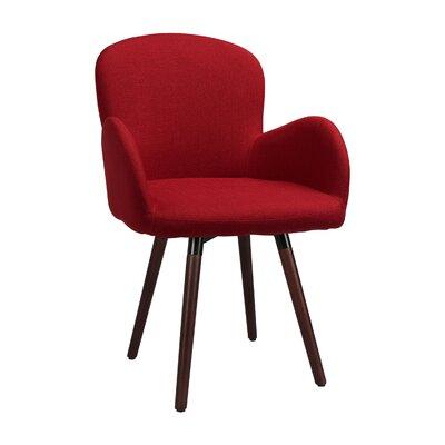 Buckland Side Chair Upholstery: Burgundy