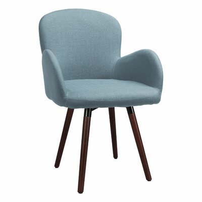 Buckland Side Chair Upholstery: Soft Blue