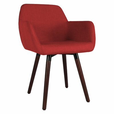 Brockton Side Chair Upholstery: Burgundy