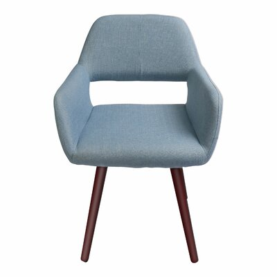 Braintree Side Chair Upholstery: Soft Blue