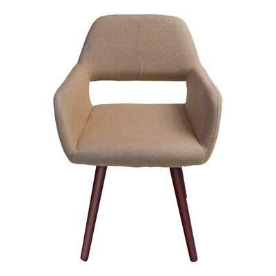 Braintree Side Chair Upholstery: Light Brown
