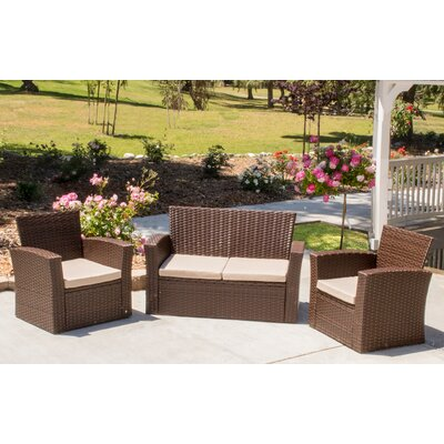 Hope 3 Piece Sofa Seating Group