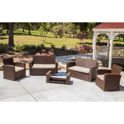Hope 5 Piece Sectional Seating Group