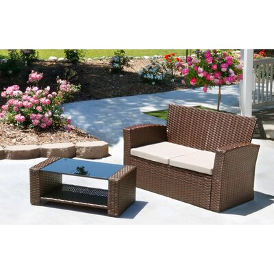 Hope 2 Piece 2 Person Seating Group
