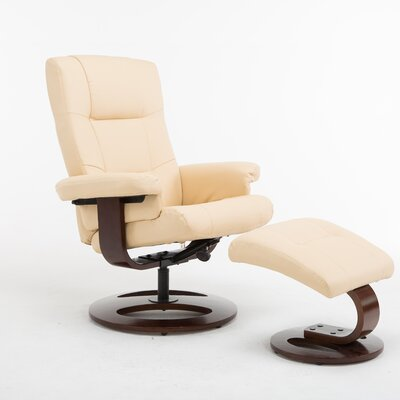 Cecilwood I-Comfy Recliner Upholstery: Tan