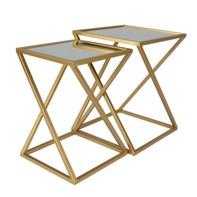 Hector 2 Piece Nesting Tables