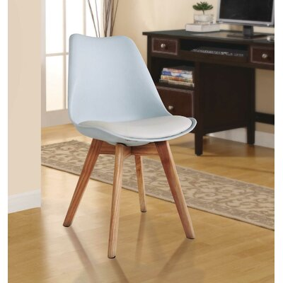 Ashley Solid Wood Dining Chair Finish: White