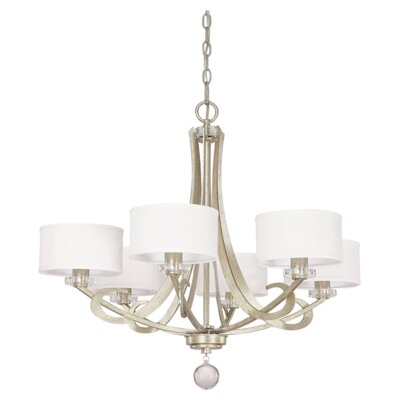 Hutton 6-Light Drum Chandelier