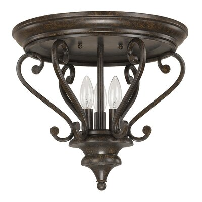 Maxwell 3-Light Flush Mount