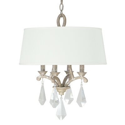 Harlow 4-Light Drum Pendant