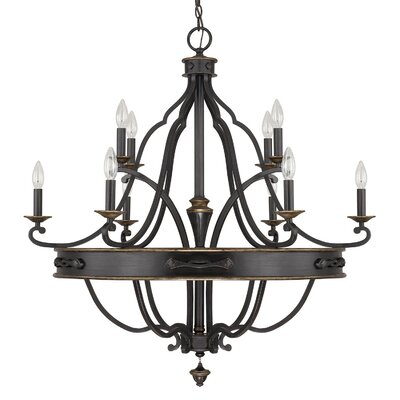 Higham 10-Light Candle-Style Chandelier