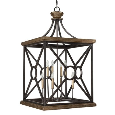 Landon 8-Light Foyer Pendant