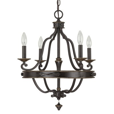 Wyatt 4-Light Candle-Style Chandelier