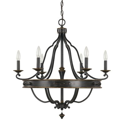Wyatt 6-Light Candle-Style Chandelier