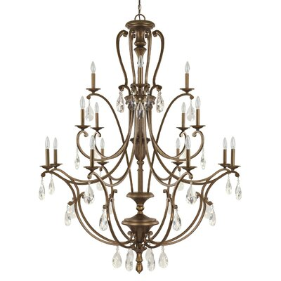 Claybourne 16-Light Candle-Style Chandelier