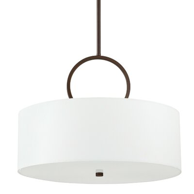 Anu 3-Light Pendant Finish: Burnished Bronze