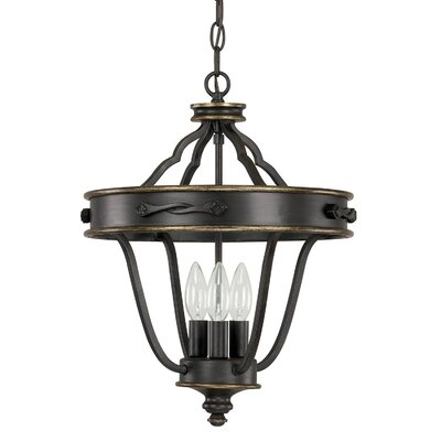 Higham 3-Light Foyer Pendant
