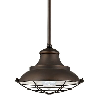 1-Light Mini Pendant Size: 45.25 H x 10.5 W