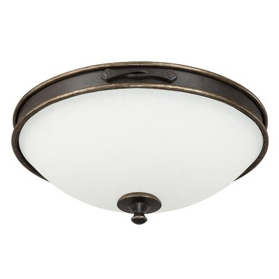 Wyatt 3-Light Flush Mount