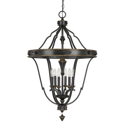 Higham 6-Light Foyer Pendant